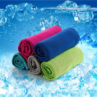 (2 Pack) Cool Core Cold Feeling Cool 15 Degrees Ice Towel Price Philippines