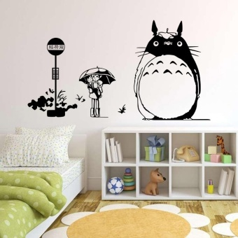 Harga TOTORO DIY Art Quote Wall Decal Decor Room Stickers Vinyl Removable Paper Mural Home
