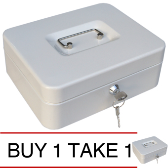 iSAFE CB-L Steel Safety Cash Storage Box (Beige), Buy 1 Take 1 Price Philippines