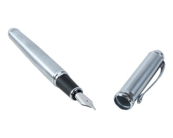 Harga niceEshop Luxury Jinhao Fountain Pen(Stainless Steel)