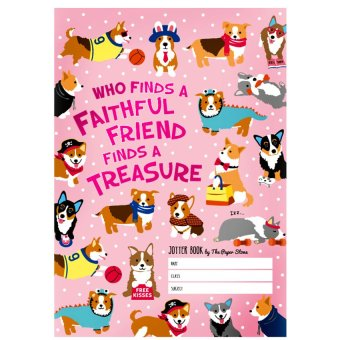 Harga The Paper Stone Jotter Notebook (Who Finds A Faithful Friends Finds a Treasure)