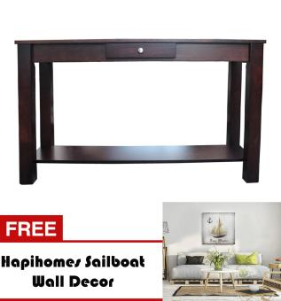 Harga Hapihomes Serenity Console Table WENGE FREE Sailboat Wall Decor