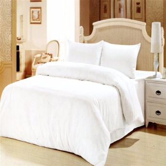 Harga Beverly's Linen Collection Duvet Cover (White)