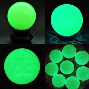 Sanwood Charming Luminous Glow In The Dark Stone Sphere Ball with Base Home Decor Gifts - intl Price Philippines
