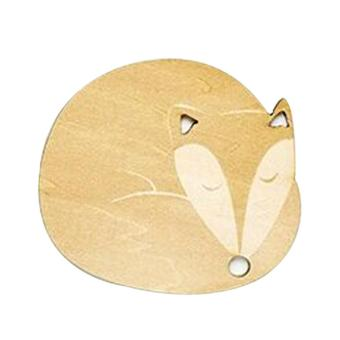 Cartoon Wooden Mat Coaster Heat Insulated Pad Placemat Tablemat Fox Price Philippines