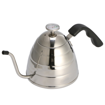 Harga Fashion Design Stainless Steel Tea and Coffee Pot Coffee Maker Spout Drip Kettle Hot Water for Barista - intl