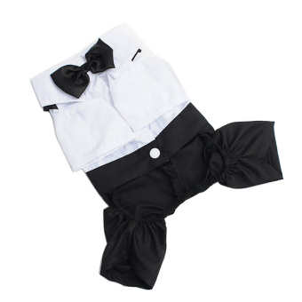 Gentleman Suit Pet Dog Clothes Puppy Prince Tuxedo Bow Tie Suit Apparel Costume Puppy Clothing XXL Price Philippines