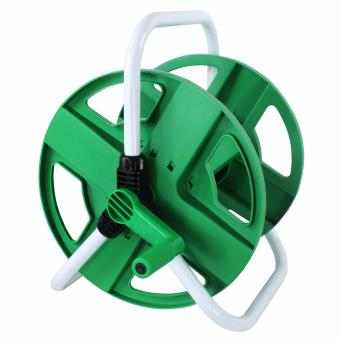 B.I.T. Portable Garden Hose Reel Water Pipe Storage Rack Holder 1/2'-150' 45m Hose (Green) Price Philippines