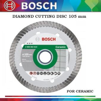 BOSCH Diamond Cutting Disc 105mm for Ceramic Price Philippines