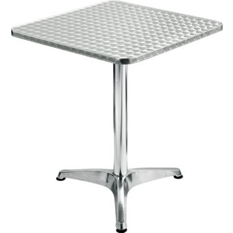 Sumo AT-60SDLX Stainless Steel Top Aluminum Square Pantry Table with Post-formed Edged Top (Silver) Price Philippines