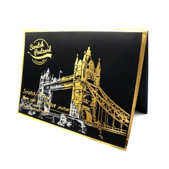 Harga Inspire Lago London Tower Bridge Scratch Postcard