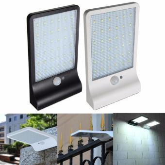 Harga Newest 450LM 36 LED Solar Power Street Light PIR Motion Sensor Lamps Garden Security Lamp Outdoor Street Waterproof Wall Lights - intl