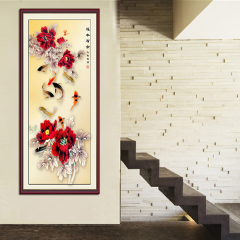 "DIY Diamond Cross Stitch Painting ""Year after year have fish "" Home Decor Price Philippines"