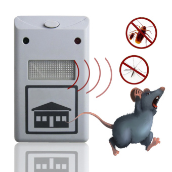Cyber Riddex Plus Electronic Pest Rodent Repeller White - intl Price Philippines