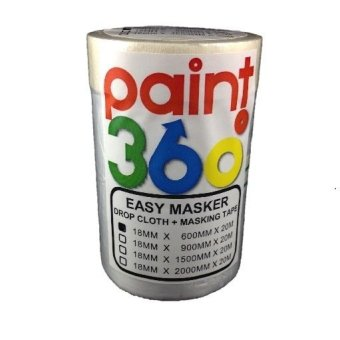 Harga PAINT360 Easy Masker Tape with Dropcloth 600mm