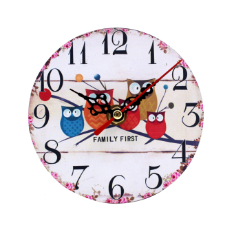 Harga Wallmark Family First Table Clock