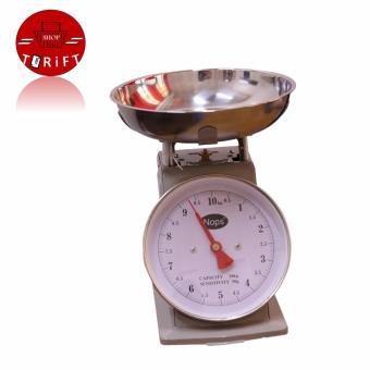 Harga SHOP AND THRIFT NOPS Portable Kitchen Scale Mechanical Scale Table Scale Weighing Scale 10 kilos