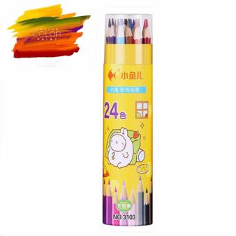 Harga Polychromos Colour Pencils 24 Colour(Multicolor) Drawing Writing Graffiti Wooden Pencils For Kids Students - intl