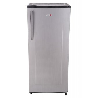 Harga Fujidenzo RSD-68P SL 6.8 cu.ft. Single Door Direct Cool Refrigerator (Silver)