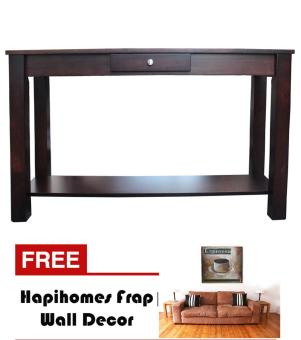 Harga Hapihomes Serenity Console Table WENGE FREE Frap Wall Decor