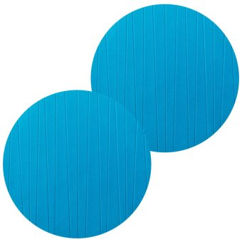 Set of 2 IKEA Panna Circle Place Mat Round Shape Coaster Heat Resistant Pad Mat (Turquoise) Price Philippines
