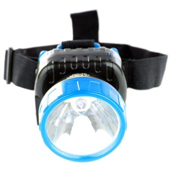 Harga NSS NS-286 LED Super Capacity Head Lamp (Blue)