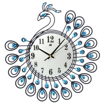 Harga Diamond Peacock Large Wall Clock