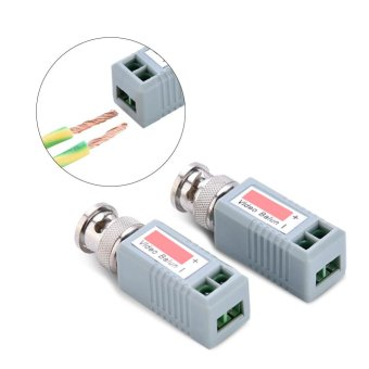 Harga 2pcs/lot HD-CVI/TVI/AHD/CVBS 4 in 1 CCTV Video Balun Passive Transceivers - intl