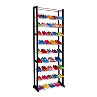 Harga Amazing Shoe Rack High Quality Amazing Shoe Rack (Black)