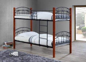 Harga Hapihomes Astoria Double Deck Bed Frame