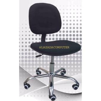 PCR Clerical Computer Chair. Adjustable. Gas Lift. Metal Base. Armless Price Philippines