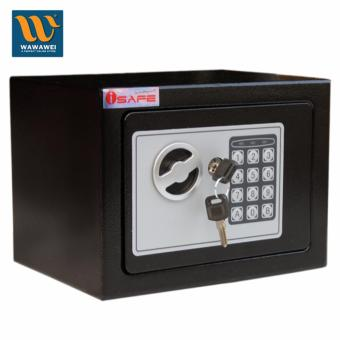 iSAFE S-17E Safe Electronic Digital Hotel Safety Vault (Black) Price Philippines