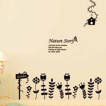 Harga Wallmark Nature Story Wall Sticker