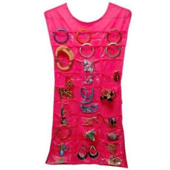 Harga QF Dress Jewelry Organizer(RED)