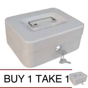 iSAFE CB-S Steel Safety Cash Storage Box (Beige) Buy 1 Take 1 Price Philippines