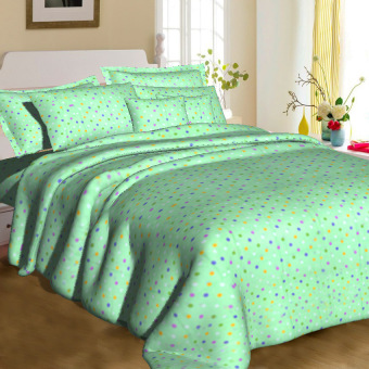 "Sleep Essentials Bliss Bedroom Collection 2017 Sachi Mint Bedding 3-piece Set (3"" to 6"" Bed Cushion) Price Philippines"