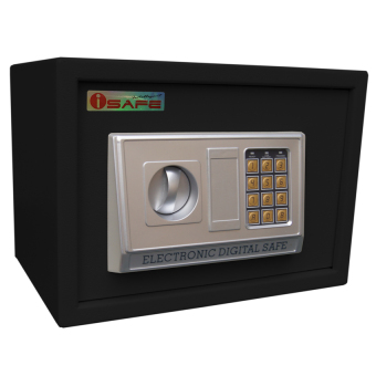 iSAFE iSF-25BLK Safe Electronic Digital Hotel Safety Vault (Black) Price Philippines