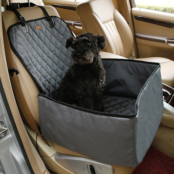 Pet Dog Cat Mat Blanket Waterproof Cover Mat Hammock Cushion Protector car pet seat single seat car mats(Grey) - intl Price Philippines