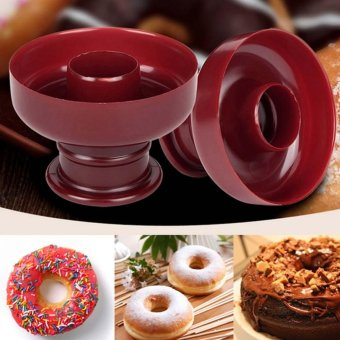 Doughnut Donut Maker Biscuit Mould Cake Bakery Fondant DIY Baking Tool - intl Price Philippines