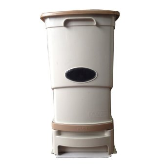 Harga Clean Club Rice Dispenser 15kg (Beige)