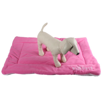 Harga Dog Crate Mat Kennel Cage Pad Bed size S (pink)