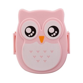 Owl Lunch Box Food Container Storage Box Portable Bento Box Pink Price Philippines