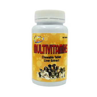 Papi Multivitamins Chewable Tablet Liver Extract 50 Tablets