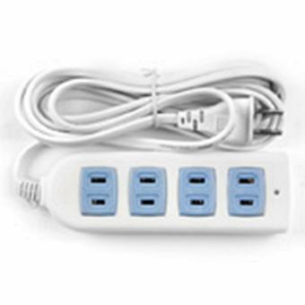 CCY CS-128 Safe Extension Cord (White) Price Philippines
