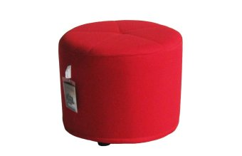 AVINO® Peddy Ottoman Stool (Fireman Red) Price Philippines
