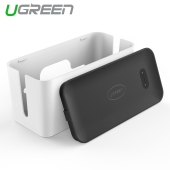 Harga UGREEN Power Cable Organizer Box for All Electric Wires Management