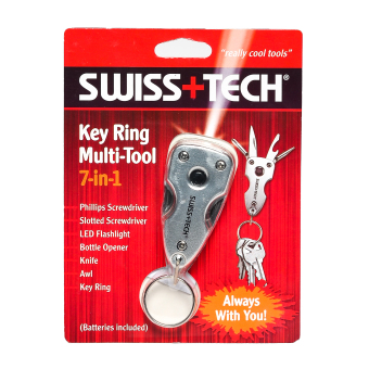 Harga Swiss Tech 7-in-1 Key Ring