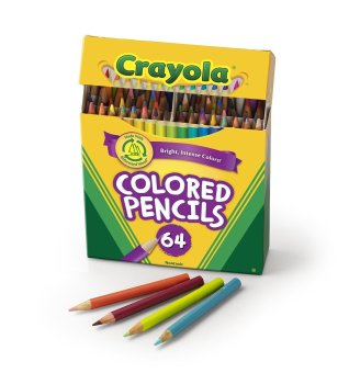 Harga Crayola 64 Ct Short Colored Pencils Kids Choice Colors