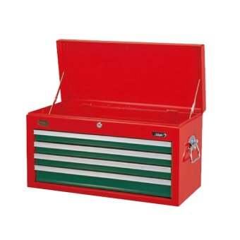 Harga Hans Tools 9904HQ 4 Drawer Tool Chest (Green/Red)