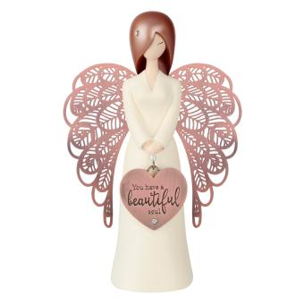 "'You are An Angel"" 155mm Angel Figurine Antique Rose Gold Wings Price Philippines"